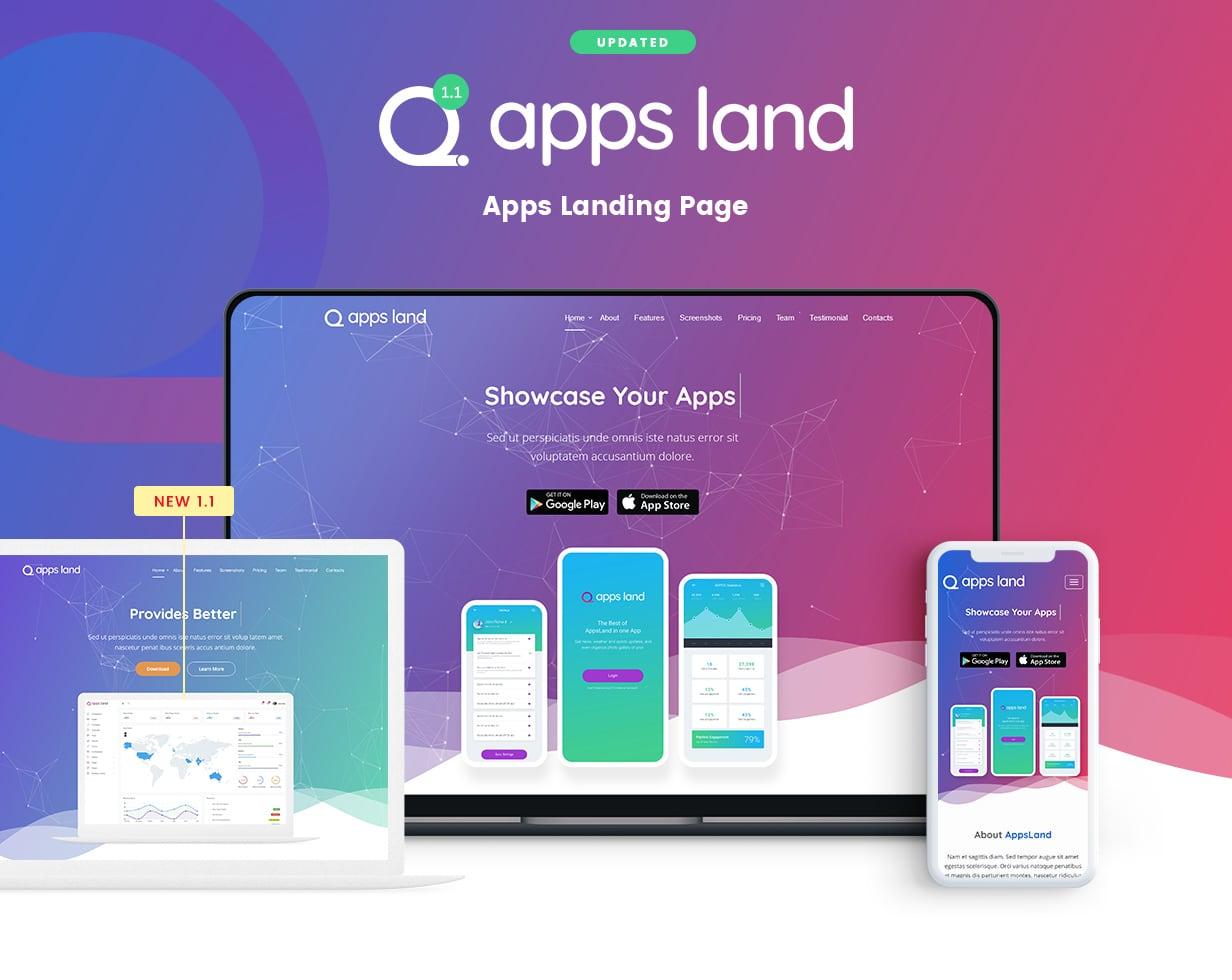 App Landing Feature