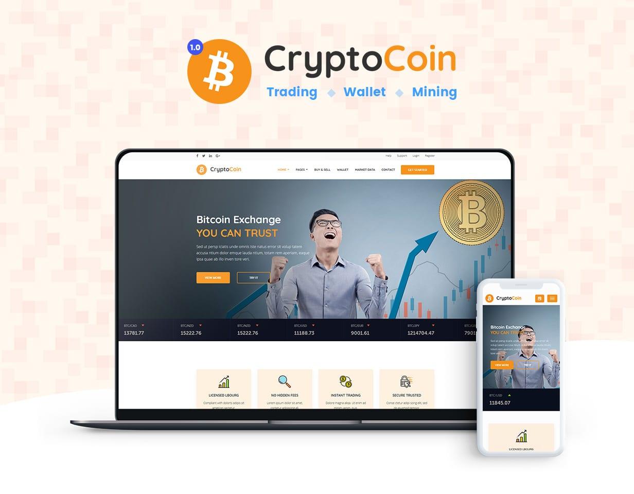Crypto BitCoin Features